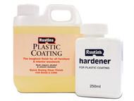 Rustins RUSFPCGG1L - Plastic Furniture Coating Gloss 1 Litre