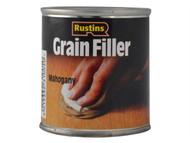 Rustins RUSGFM230G - Grain Filler Mahogany 230g