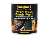 Rustins RUSH600BP500 - High Heat Paint 600ŒÍŒ'ŒÍŒîŒÍí¢ŒÍŒ¢ŒÍŒ'í_í_ŒÍŒ'í_ŒC Black 500ml