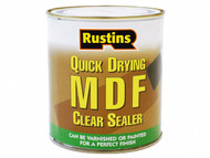 Rustins RUSMDFCS500 - Quick Drying MDF Sealer Clear 500ml