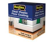 Rustins RUSPCFS4L - Clear Plastic Floor Coating Kit Satin 4 Litre