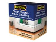 Rustins RUSPFCFK4L - Clear Plastic Floor Coating Kit Gloss 4 Litre