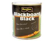Rustins RUSQDBB125 - Quick Dry Blackboard Black 125ml