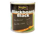 Rustins RUSQDBB1L - Quick Dry Blackboard Black 1 Litre