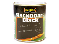 Rustins RUSQDBB250 - Quick Dry Blackboard Black 250ml