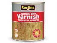 Rustins RUSQDVGC500 - Quick Dry Varnish Gloss Clear 500ml