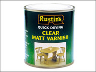 Rustins RUSQDVMC250 - Quick Dry Varnish Matt Clear 250ml