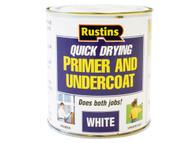 Rustins RUSQDWPUC250 - Quick Dry Primer & Undercoat White 250ml