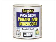 Rustins RUSQDWPUC500 - Quick Dry Primer & Undercoat White 500ml