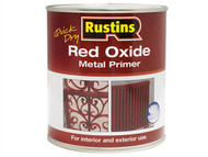 Rustins RUSROMP5LQ - Quick Dry Red Oxide Metal Primer 5 Litre
