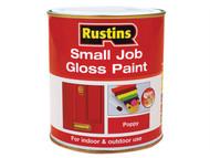Rustins RUSSJPPOPPY - Small Job Paint Gloss Poppy 250ml