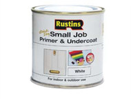 Rustins RUSSJPUWH250 - Small Job Primer / Undercoat White 250ml