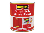 Rustins RUSSJPWHITE - Small Job Paint Gloss White 250ml