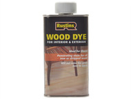 Rustins RUSWDLT1L - Wood Dye Light Teak 1 Litre