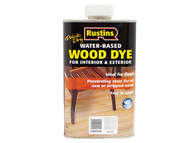 Rustins RUSWDWH1L - Quick Dry White Wood Dye 1 Litre