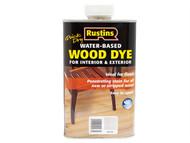 Rustins RUSWDWH250 - Quick Dry White Wood Dye 250ml