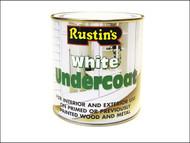 Rustins RUSWU500 - White Undercoat 500ml