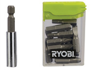 Ryobi RYBRAK16FP - RAK16FP Flat Pack Furniture Screwdriver Bit Set of 16