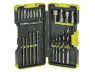 Ryobi RYBRAK30MIX - RAK 30MIX Mixed Drill & Screwdriving Set of 30