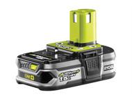 Ryobi RYBRB18L15 - RB 18L15 ONE+ 18V Battery 18 Volt 1.5Ah Li-Ion