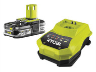 Ryobi RYBRBC18L15 - RBC 18L15 ONE+ 18V Battery & Charger 18 Volt 1.5Ah Li-Ion