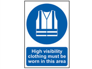 Scan SCA0022 - High Visibility Jackets Must Be Worn In This Area - PVC 200 x 300mm