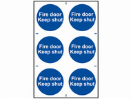 Scan SCA0151 - Fire Door Keep Shut - PVC 200 x 300mm