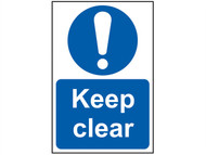 Scan SCA0253 - Keep Clear - PVC 200 x 300mm