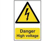 Scan SCA0761 - Danger High Voltage - PVC 200 x 300mm