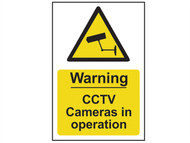 Scan SCA1311 - Warning CCTV Cameras In Operation - PVC 200 x 300mm