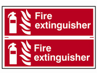 Scan SCA1351 - Fire Extinguisher - PVC 300 x 200mm