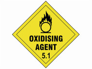 Scan SCA13729 - Oxidising Agent 5.1 - 100 x 100mm SAV Diamond