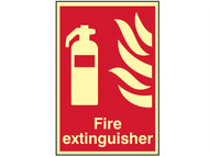 Scan SCA1571 - Fire Extinguisher Photoluminescent - 200 x 300mm
