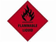 Scan SCA1850S - Flammable Liquid SAV - 100 x 100mm