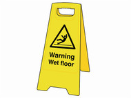 Scan SCA4702 - Warning Wet Floor Heavy-Duty A Board