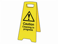 Scan SCA4703 - Caution Cleaning In Progress Heavy-Duty A Board