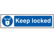 Scan SCA5011 - Keep Locked - PVC 200 x 50mm