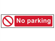 Scan SCA5056 - No Parking - PVC 200 x 50mm