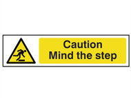 Scan SCA5109 - Caution Mind The Step - PVC 200 x 50mm