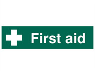 Scan SCA5212 - First Aid - PVC 200 x 50mm