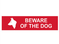 Scan SCA5251 - Beware Of The Dog - PVC 200 x 50mm