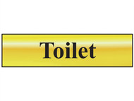 Scan SCA6051 - Toilet - Polished Brass Effect 200 x 50mm