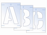 Scan SCA9417 - Letter Stencil Kit 300mm