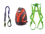 Scan SCAFAKITBAG - Fall Arrest Scaffolders Kit in Rucksack
