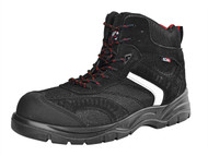 Scan SCAFWBOB8 - Bobcat Low Ankle Hiker Boot Black UK 8 Euro 42