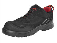 Scan SCAFWCARA12 - Caracal Safety Trainer Black UK 12 Euro 46