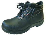 Scan SCAFWCHUK9 - Dual Density Chukka Boots Black UK 9 Euro 43