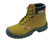 Scan SCAFWCOUG6 - Cougar Nubuck Safety Boots S1P UK 6 Euro 40
