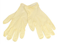 Scan SCAGLOLATEXM - Latex Gloves Box 100 - Medium