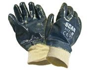 Scan SCAGLONIT - Nitrile Knitwrist Heavy-Duty Gloves
